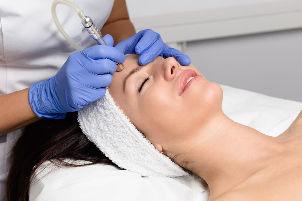 MICRODERMABRASION treatment in Guiseley