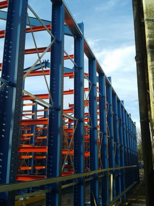 Cantilever Rack Clad Warehouse