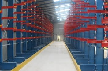 Bird Stainless Pop Up Warehouse Cantilever Racking