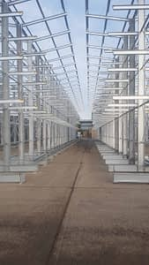Galvanised Cantiliver Racking