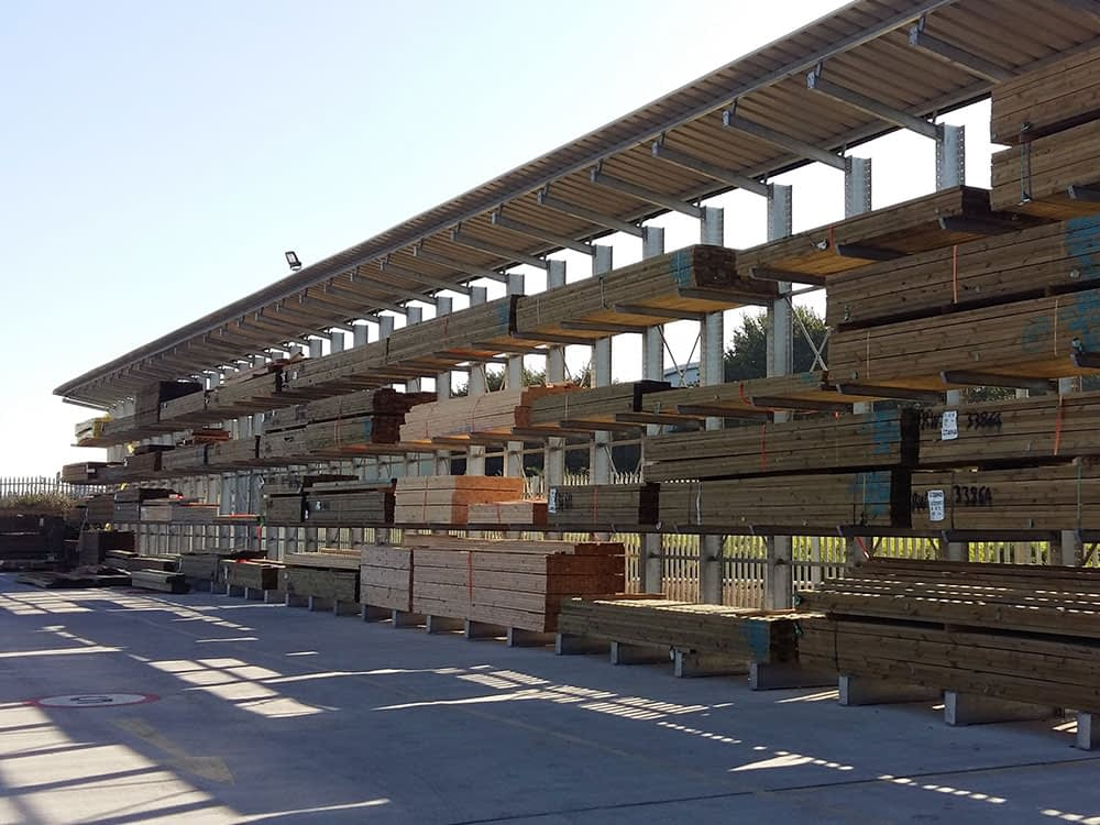Outdoor-timber-racking
