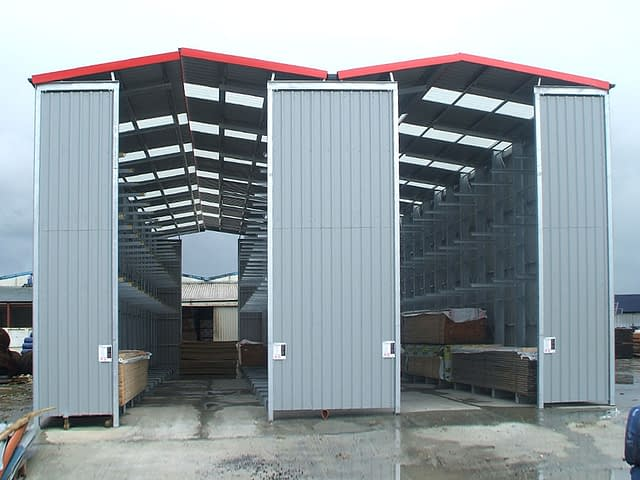 extra outdoor warehouse storage