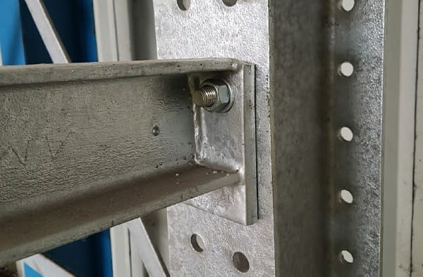 bolted racking arms