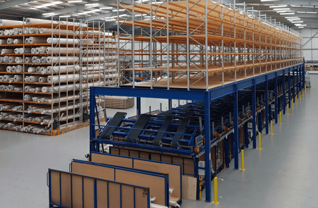 Alliance Carpets Warehouse Racking
