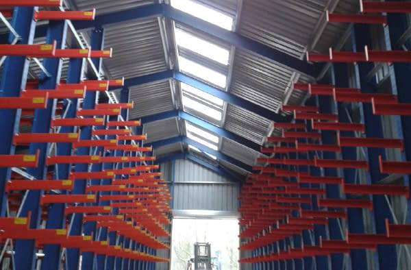 Canopied Cantilever warehouse