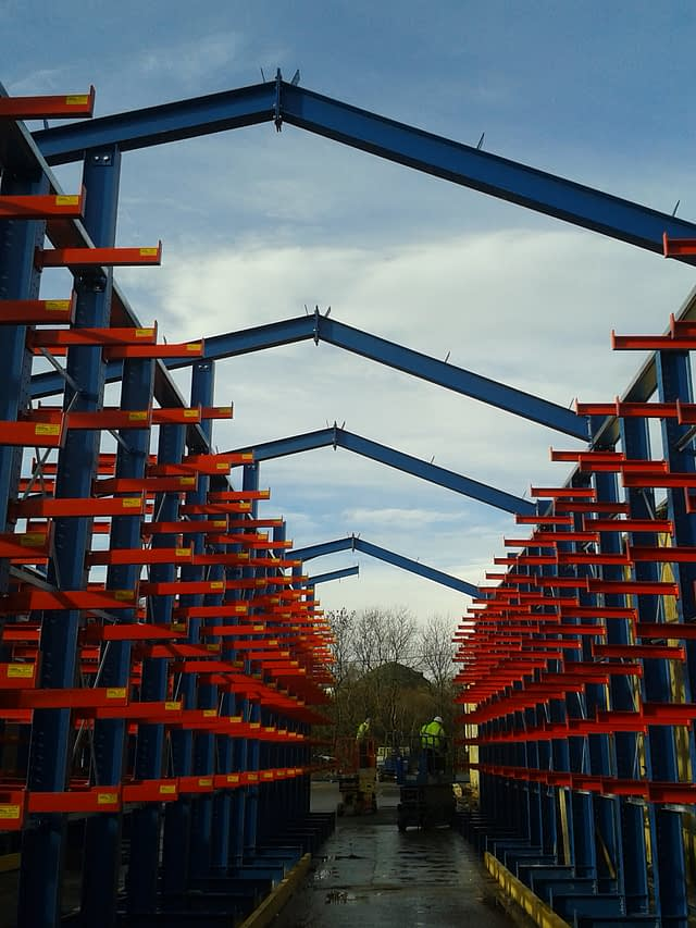 Canopied Cantilever Racking