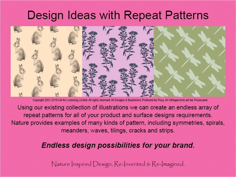 Repeat Pattern, Surface Design