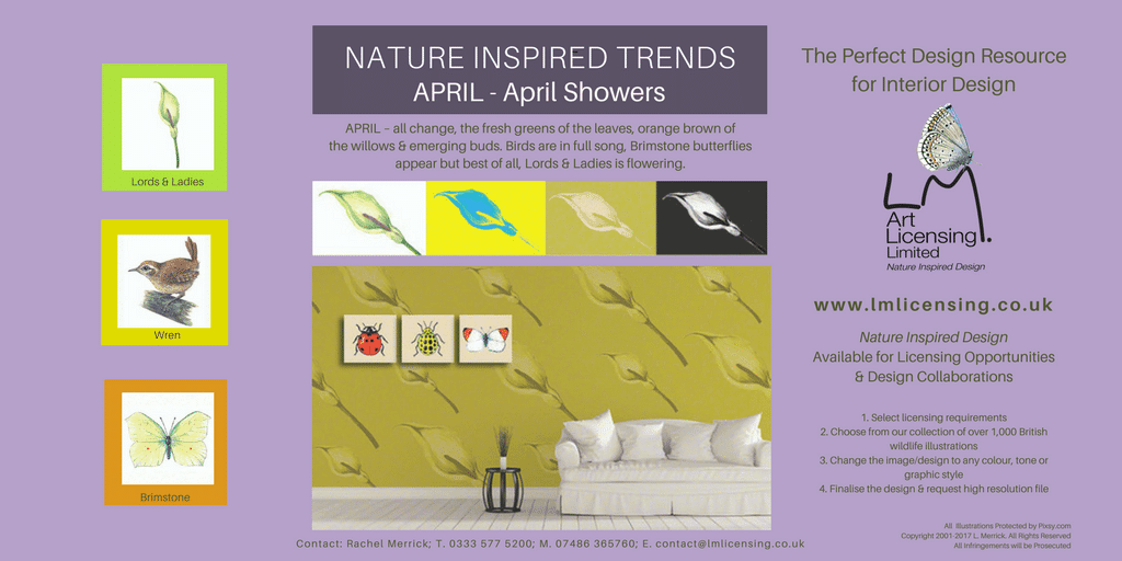 Twitter April NATURE INSPIRED TRENDS