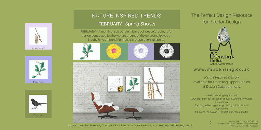 Twitter February Nature INSPIRED TRENDS