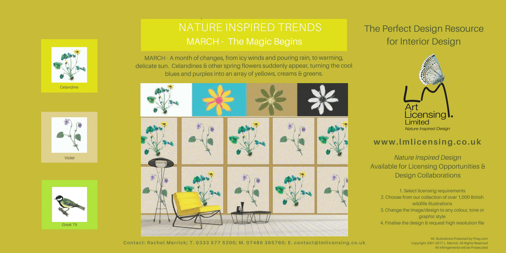 Twitter March NATURE INSPIRED TRENDS
