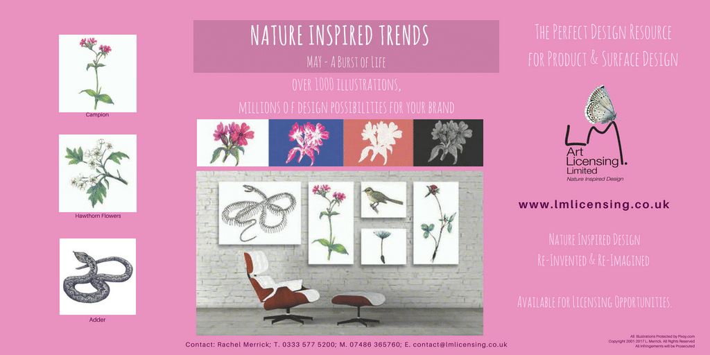 Twitter May NATURE INSPIRED TRENDS