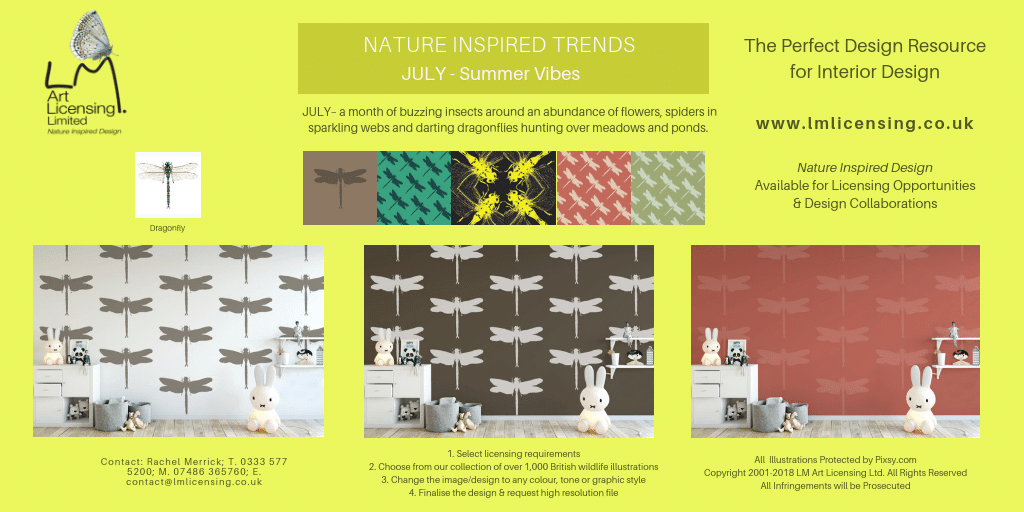 Twitter JuLY NATURE INSPIRED TRENDS
