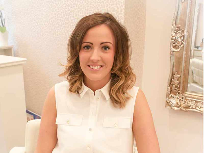 Senior Stylist, Amy at at H&Co Hairdressing in Guiseley, Leeds